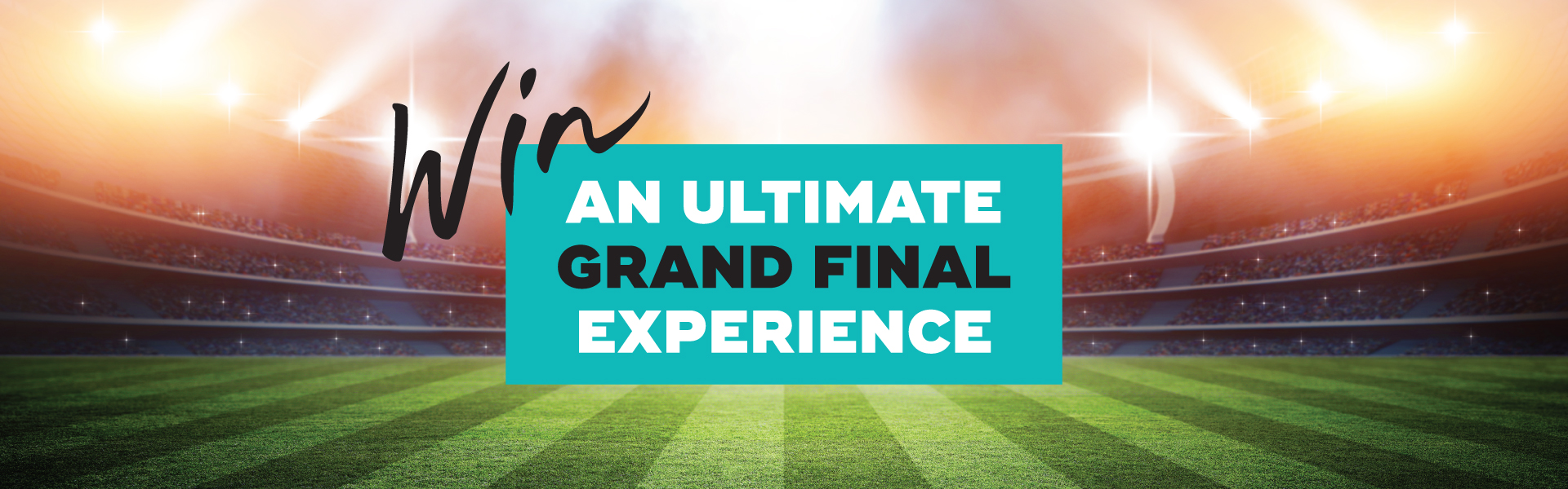 Win the ultimate AFL Grand Final experience